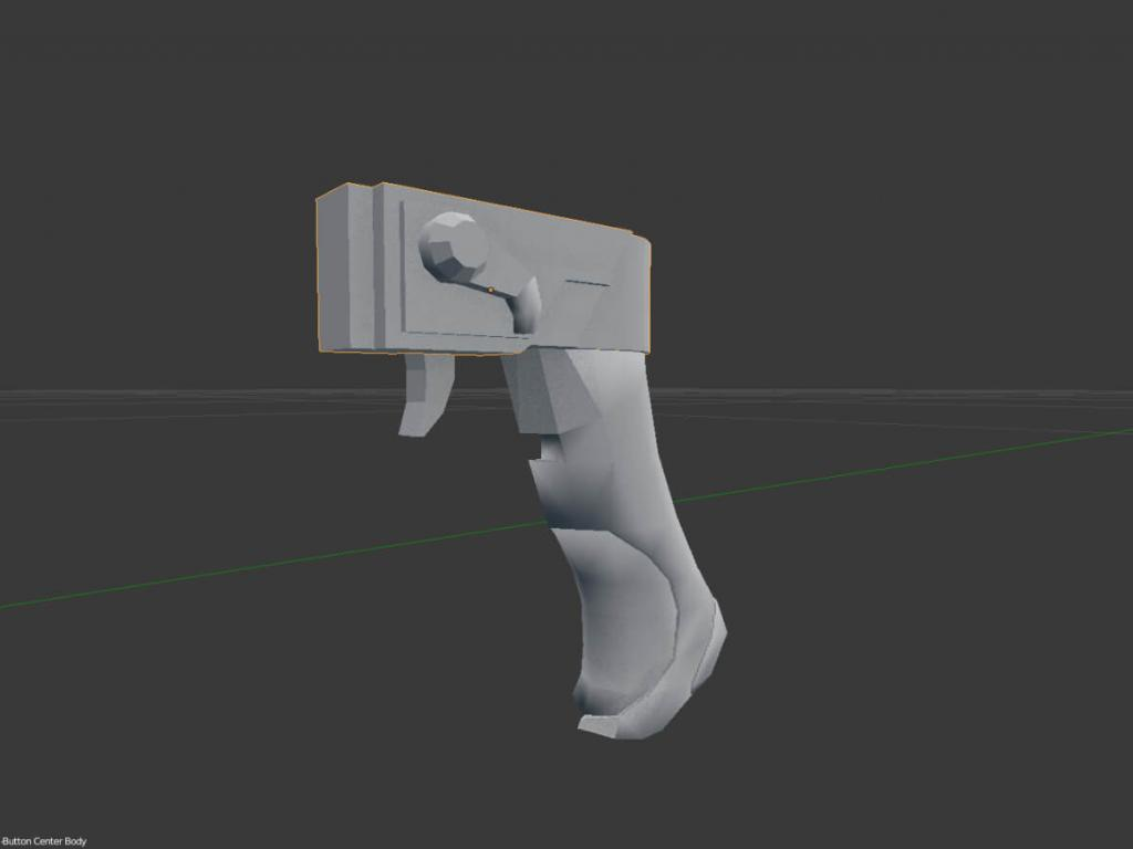 Gear of Wars paper lancer real size scale section A