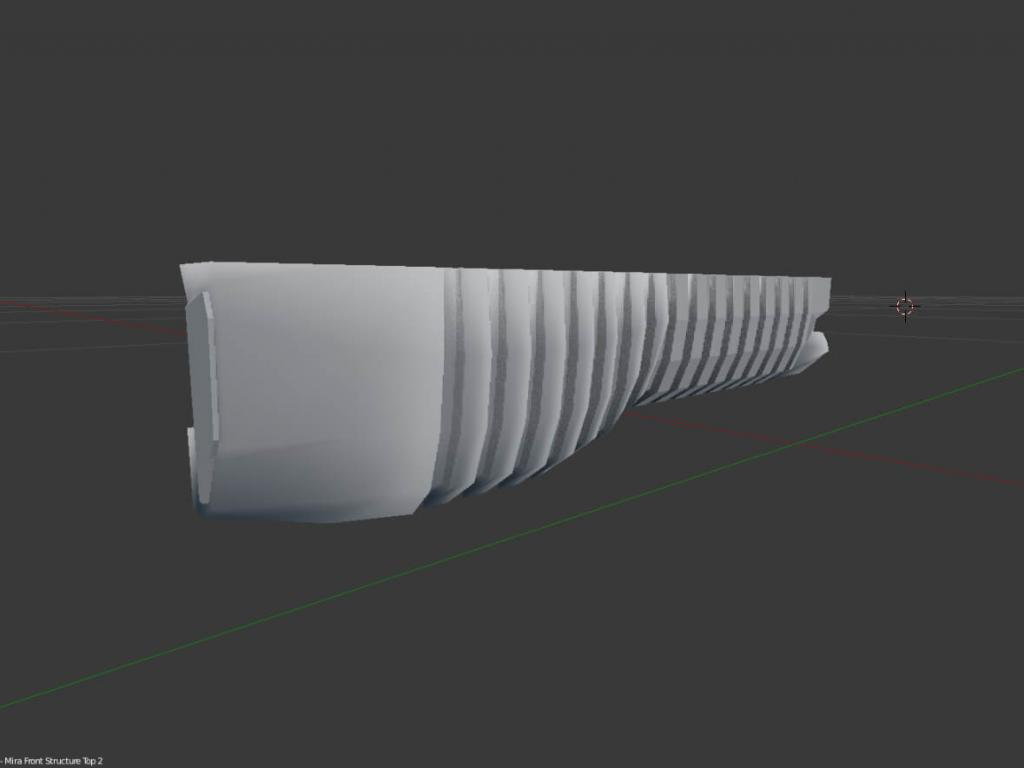 Gear of Wars paper lancer real size scale section I